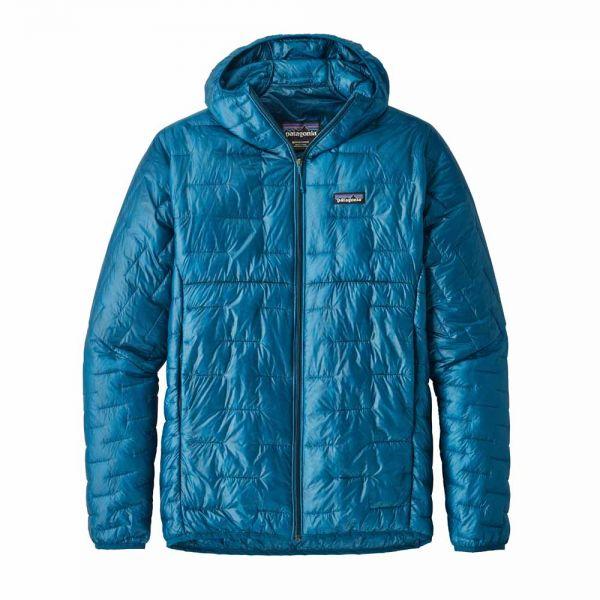 Patagonia M´s Micro Puff Hoody Herren Isolationsjacke balkan blue