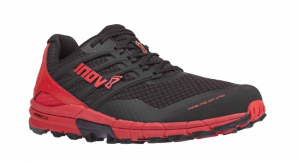 Inov-8 Trailtalon 290 Herren - Black/Red Schrägansicht