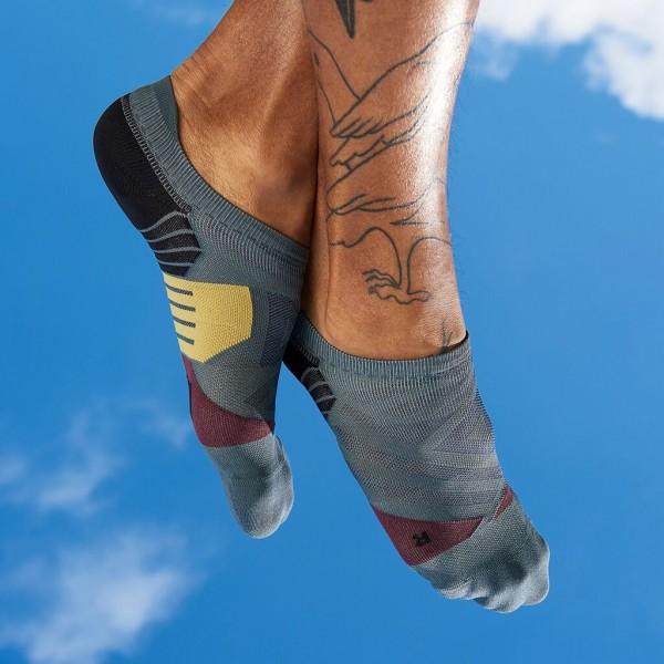 On Low sock Shadow - Mulberry Herren Socken 2