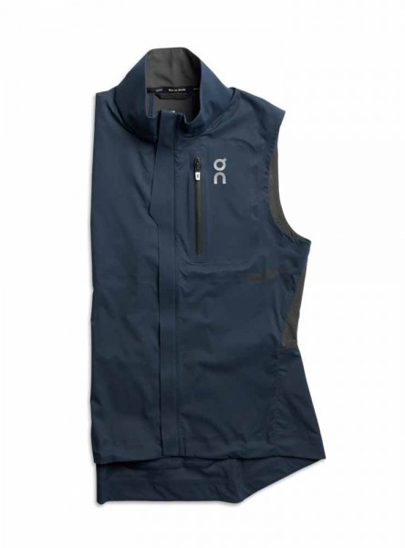 On Weather Vest Damen navy / shadow