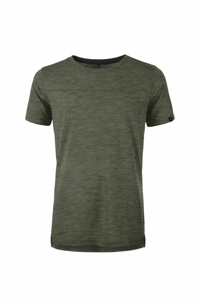 Pally'Hi Slot Lot Herren T-Shirt heather moss front