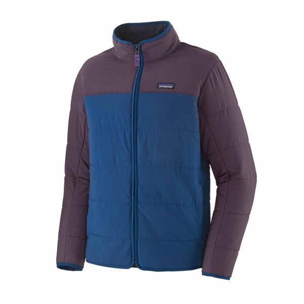Patagonia M's Pack In Jacket Superior Blue w/Purple