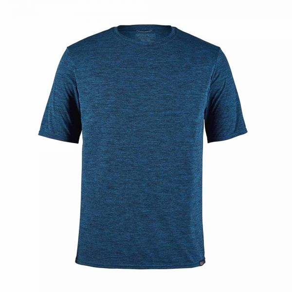 Patagonia M´s Capilene Cool Daily Shirt Herren Funktionsshirt viking blue navy blue x-dye