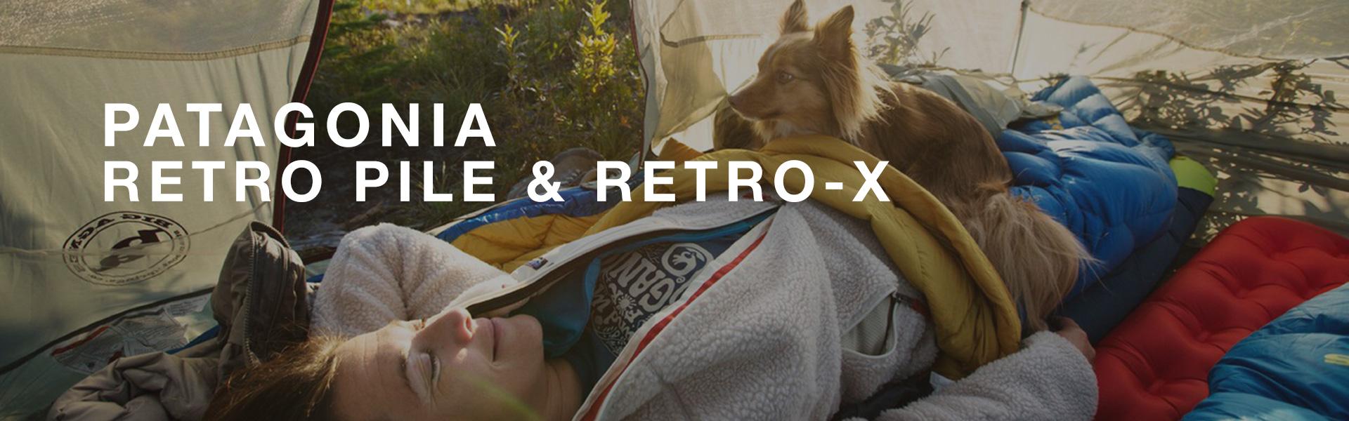 Patagonia Retro Pile und Retro-X