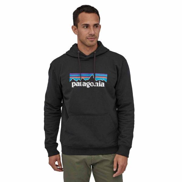 Patagonia M's P-6 Logo Uprisal Hoody Herren Kapuzenpullover black