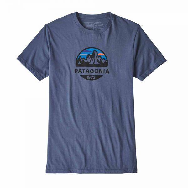 Patagonia M´s Fitz Roy Scope Organic T-Shirt Männer T-Shirt Dolomite Blue