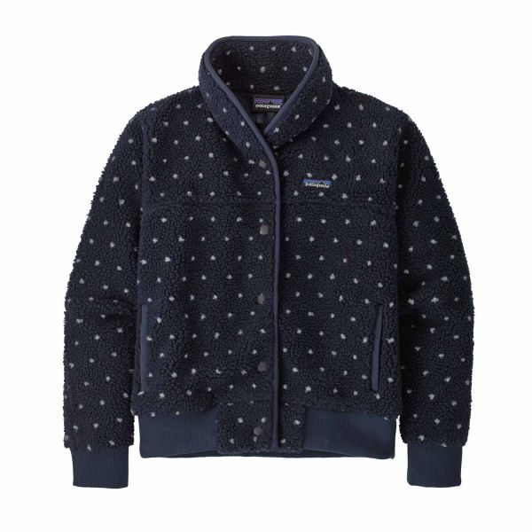 Patagonia W's Snap Front Retro-X Jacket new navy