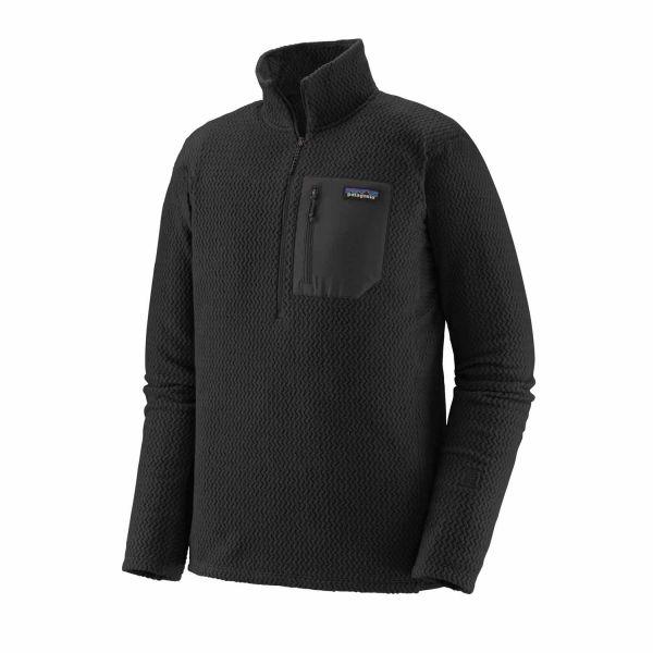 Patagonia M's R1 Air Zip Neck Herren Fleecepullover Black