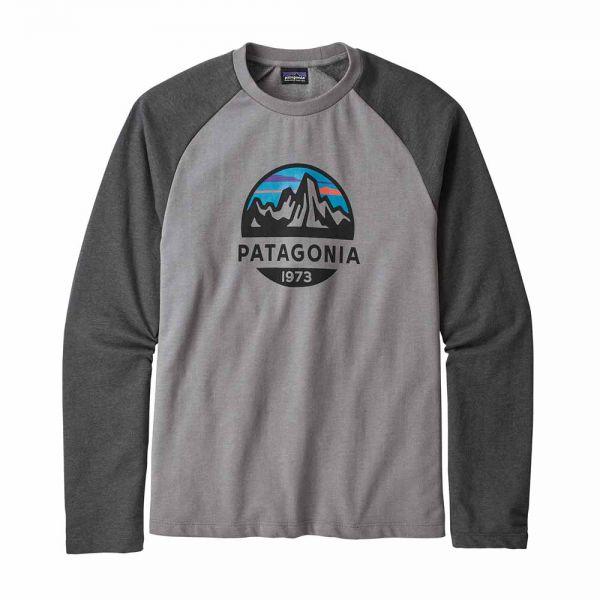 Patagonia M´s Fitz Roy Scope LW Crew Sweatshirt Herren Sweater feather grey