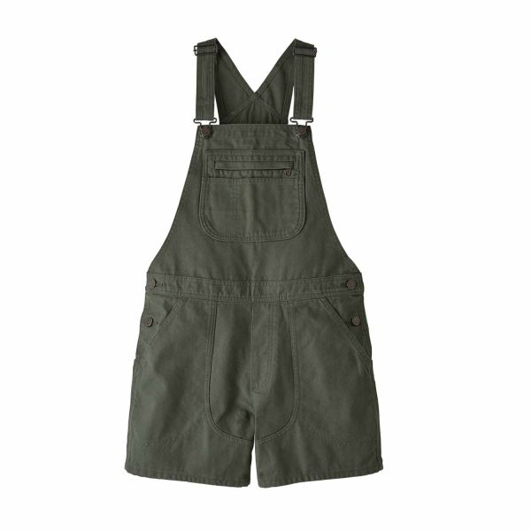 Patagonia W's Stand Up Overalls Kale Green