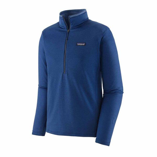 Patagonia Men's R1® Daily Zip-Neck Superior Blue-Light Superior Blue X-Dye