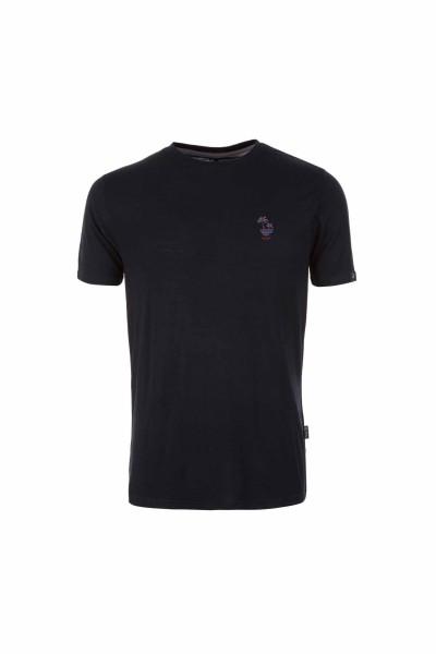 Pally'Hi T-Shirt Dizzy Palms Herren T-Shirt bluek