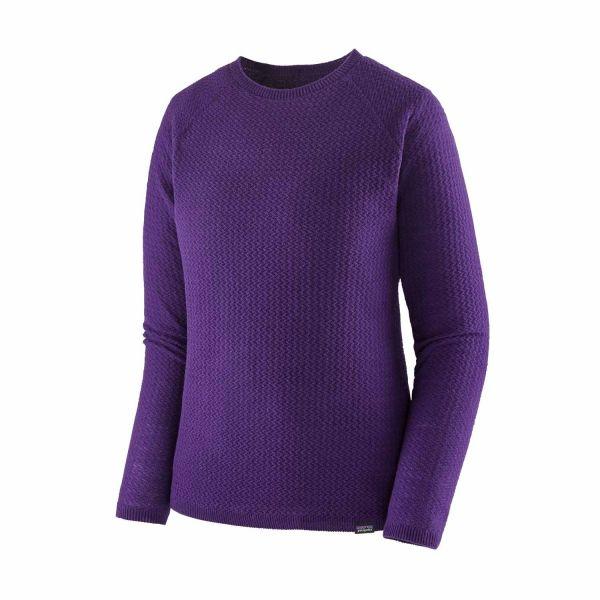 Patagonia W´s Cap Air Crew Damen Pullover purple