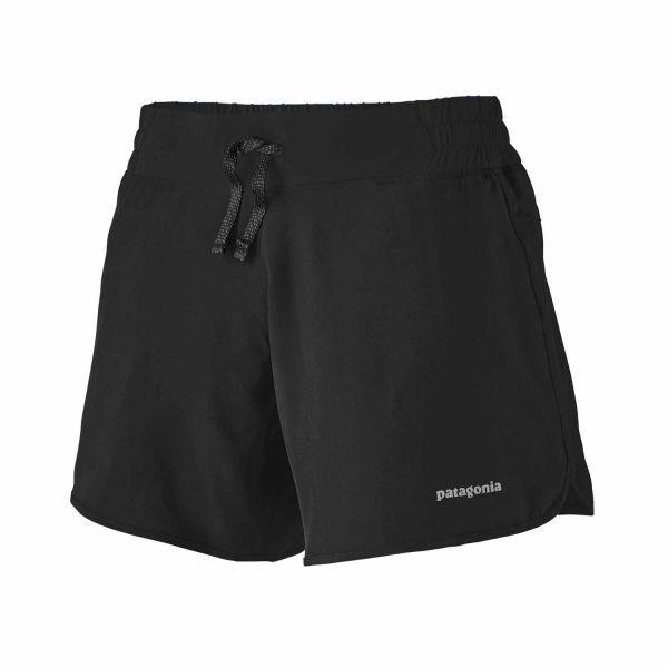 Patagonia W's Nine Trails Shorts - 6 in black