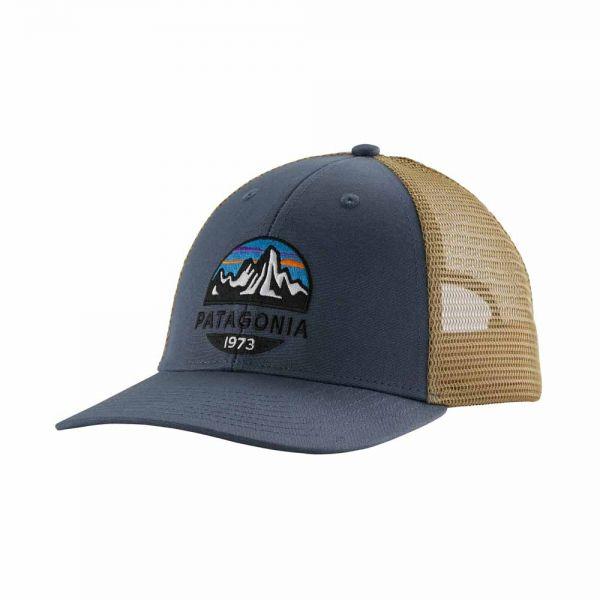 Patagonia Fitz Roy Scope LoPro Trucker Hat dolomite blue