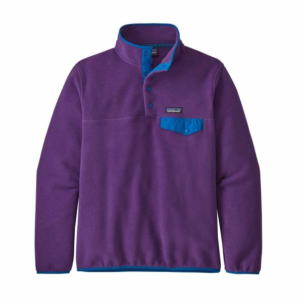 Patagonia W's LW Synch Snap-T P/O Purple