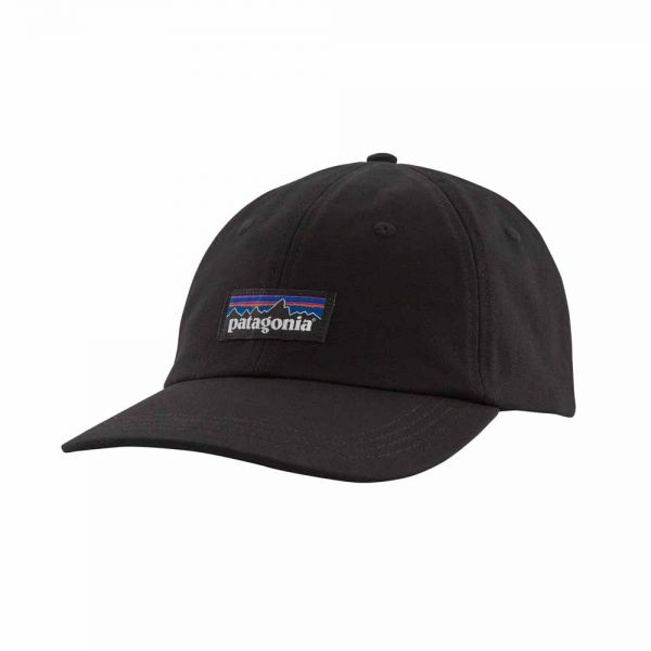 Patagonia P-6 Label Trad Cap black