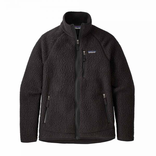 Patagonia Men´s Retro Pile Jacket Herren Jacke black