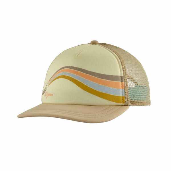 Patagonia W's Psychedelic Slider Interstate Hat nautilus tan