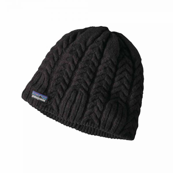 Patagonia-W-s-Cable-Beanie-black