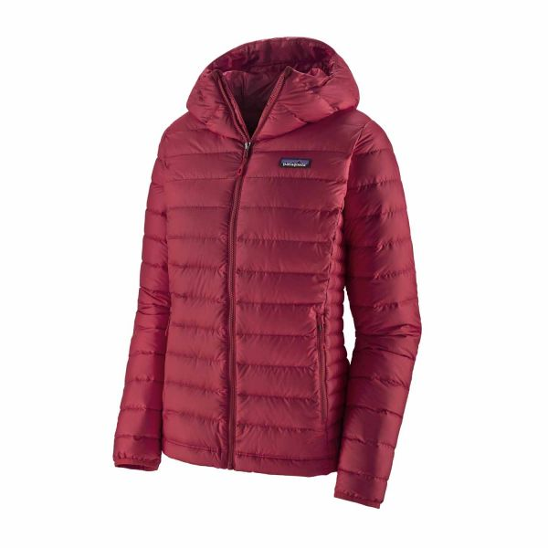 Patagonia W´s Down Sweater Hoody Roamer Red