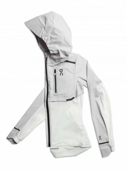 On Weather Jacket Grey - White Damen Jacke
