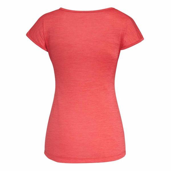 Salewa Puez Melange Dry W S/S Tee Damen T-Shirt rose red melange