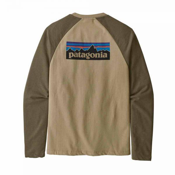 Patagonia M´s P-6 Logo Lightweight Crew Sweatshirt el cap khaki