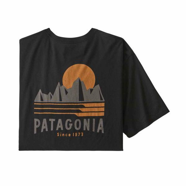 Patagonia M's Tube View Organic T-Shirt black