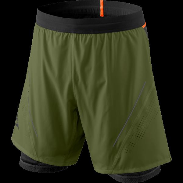 Dynafit Alpine Pro 2in1 Shorts Herren Laufhose Winter Moss/0910