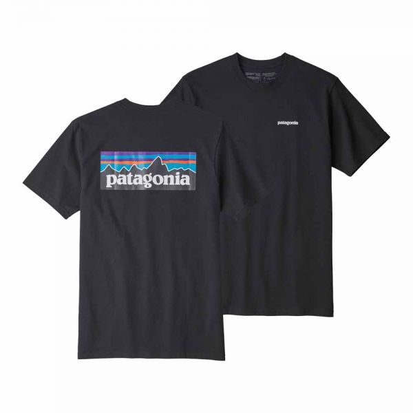 Patagonia M´s P-6 Logo Responsibili-Tee Männer T-Shirt Black