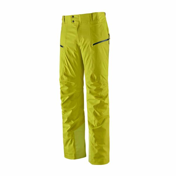Patagonia M's Stormstride Pants Chartreuse