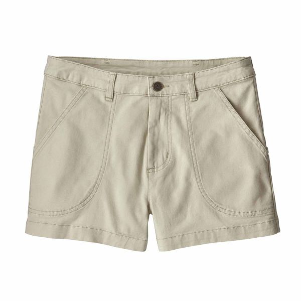 Patagonia W's Stand Up Shorts Damen Hose Dyno White