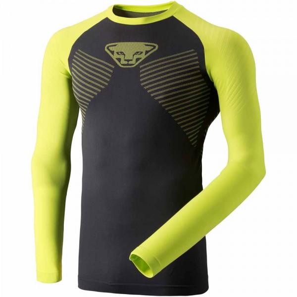 Dynafit Speed Dryarn Men Long-Sleeved Tee Herren langärmeliges T-Shirt lime punch