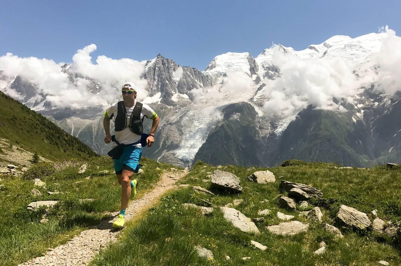 Trailrunner im Hochgebirge