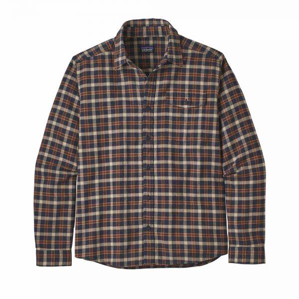 Patagonia Men´s LW Fjord Flannel Shirt Herren Hemd instinct new navy