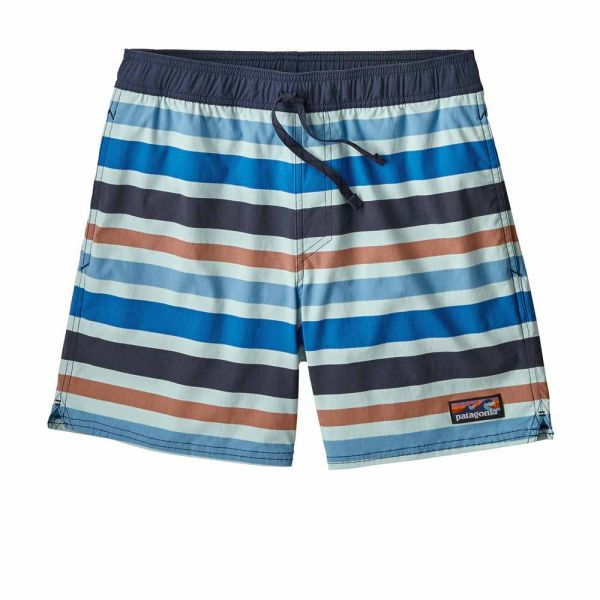 Patagonia M´s Stretch Wavefarer Volley Short - 16 in. Herren Short water ribbons atoll blue