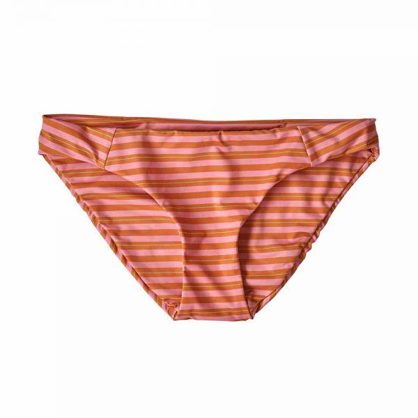 Patagonia W´s Wunamee Bottoms Damen Bikinihose tarkine path petra pink