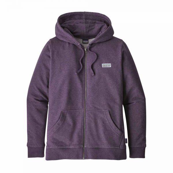 Patagonia W´s Pastel P-6 Label MW Full-Zip Hoody Damen Kapuzenjacke Piton Purple