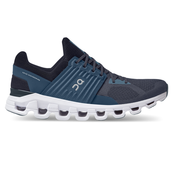 On Cloudswift Herren Laufschuh denim - midnight