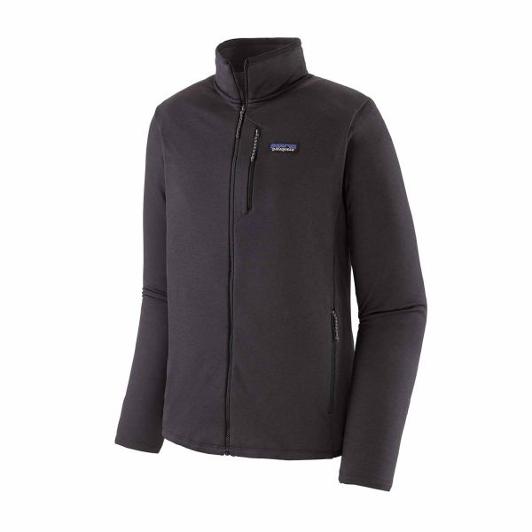 Patagonia Men's R1® Daily Jacket Ink Black - Black X-Dye