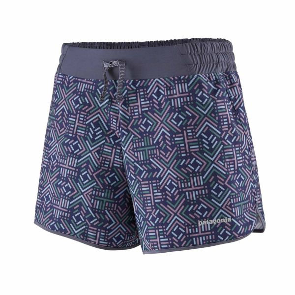 Patagonia W's Nine Trails Shorts - 6 in star dash: classic navy