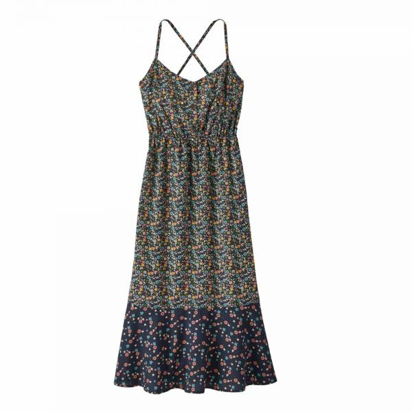 Patagonia Women's Lost Wildflower Dress Damen Sommer Träger-Kleid