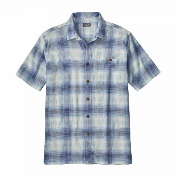 Patagonia M´s A/C Shirt Herren Shirt Costa Railroad Blue
