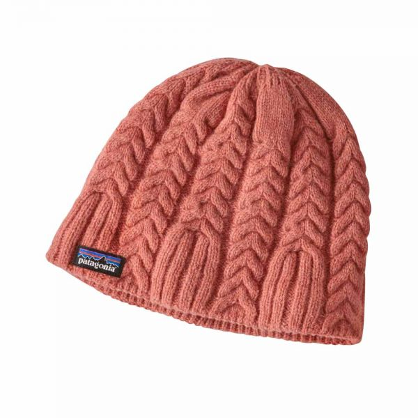 Patagonia-W-s-Cable-Beanie-tomato