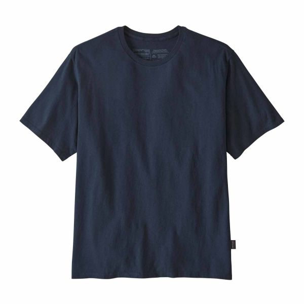 Patagonia M's Road to Regenerative Lightweight Tee New Navy