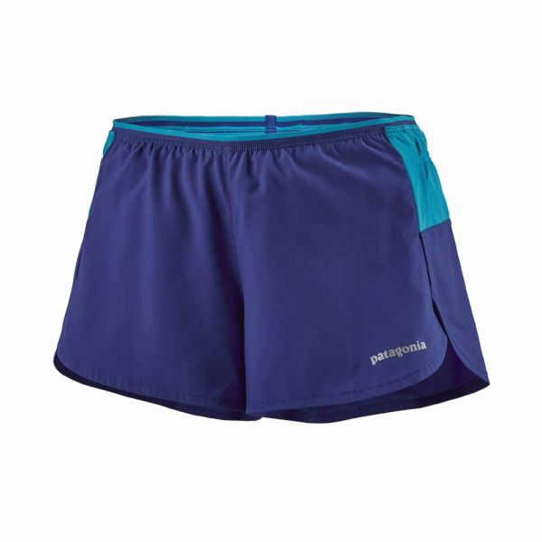 Patagonia W's Strider Pro Shorts - 3 in. cobalt blue