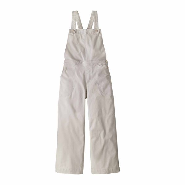 Patagonia W's Stand Up Cropped Overalls Dyno White