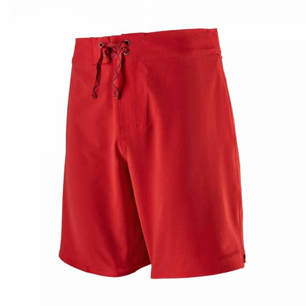 Patagonia M's Stretch Hydropeak Boardshorts - 18 in. Herren Fire