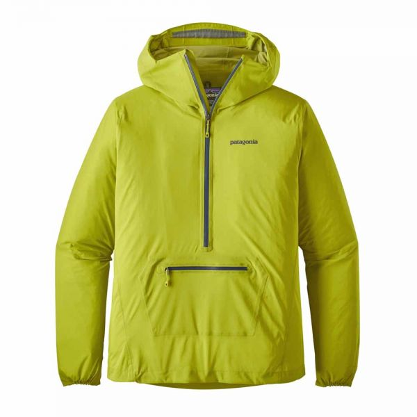 Patagonia M´s Stretch Rainshadow P/O Herren Regenpullover Light Gecko Green